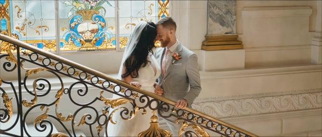 Reyana and Andrew : Beautiful moment in Paris - Shangri-La Hotel