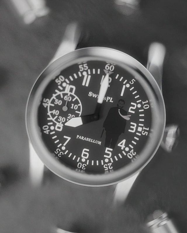 John Wick Parabellum timepiece SwissPL