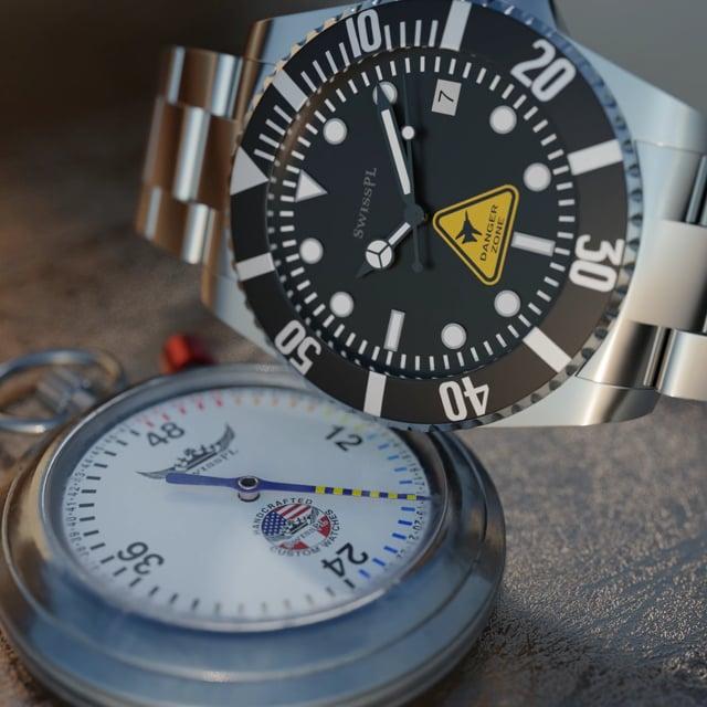SwissPL Classic Stopwatch Countdown