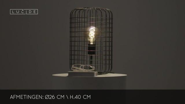 Lucide - ESMEE - Tafellamp - 02505/26