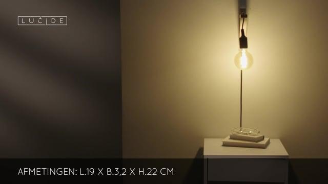 Lucide Fix wandlamp