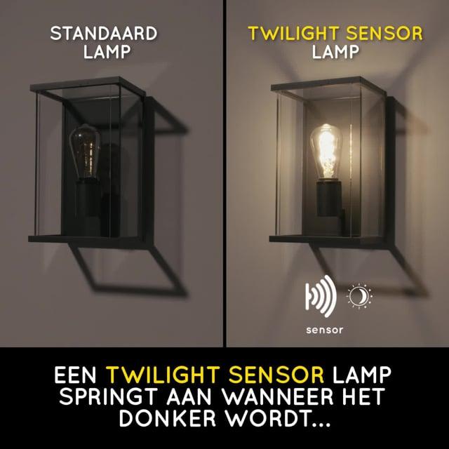 Lucide - LED BULB TWILIGHT SENSOR - Filament lamp - 49034/04