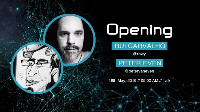 Rui Carvalho & Peter Even - 2019 Conférence Opening