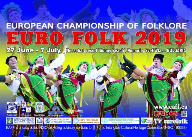 European Championship Euro Folk 2019 - day 1