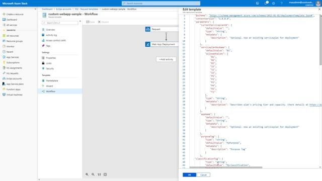 EvOps - Support - Custom WebApp Sample