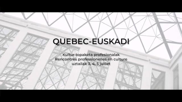 ETXEPARE: QUEBEC - EUSKADI