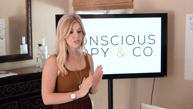 Jennifer Hudye - Conscious Copy Workshop