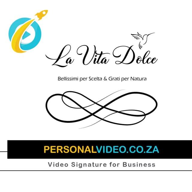 La Vita Dolce, Business of #BeautyBoutique, Square Video #PersonalVideo.co.za (2019-08-26)