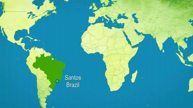Santos, Brazil - Port Report