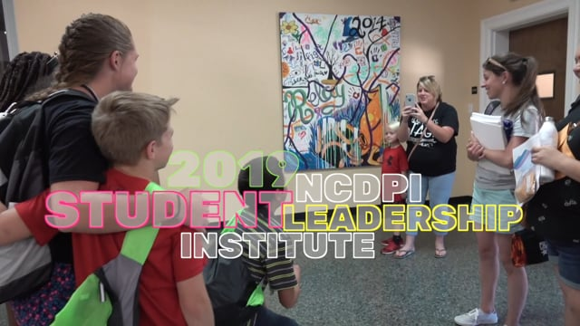 NCDPI Student Leadership Institute 2019 (short version)