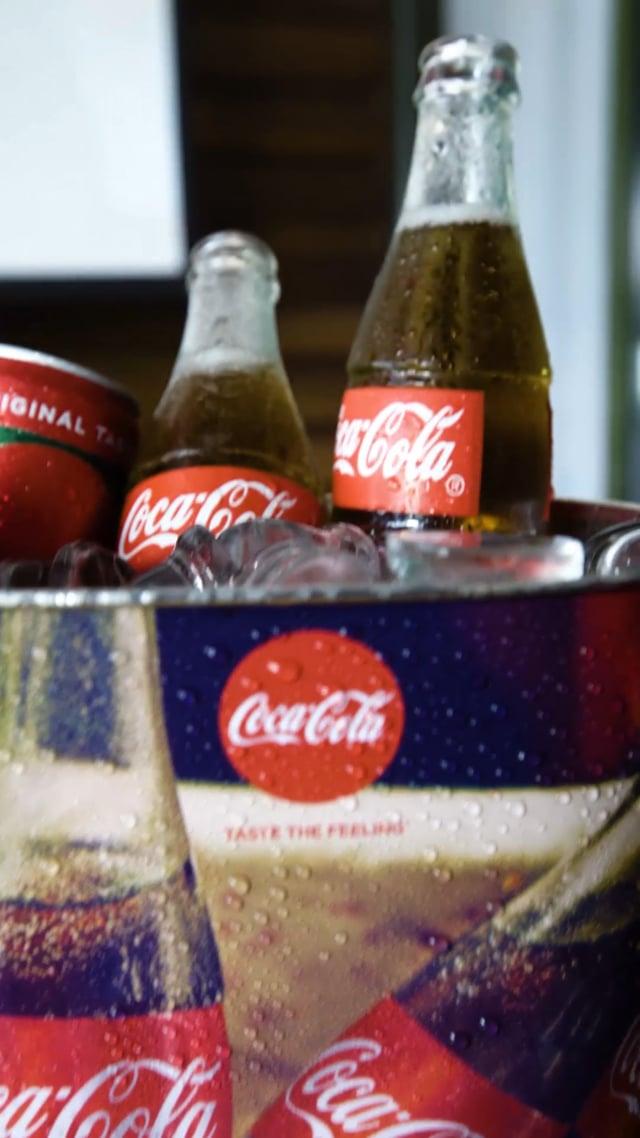 Coca Cola & Uber / Recap Epic Match Experience GFA