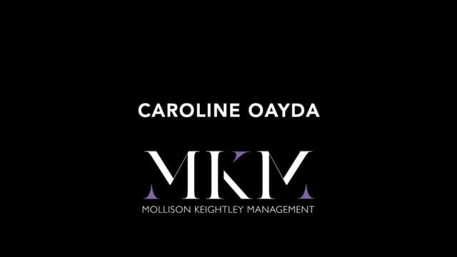 Showreel for Caroline Oayda