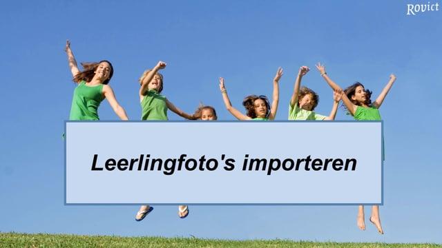 Leerlingfoto's importeren