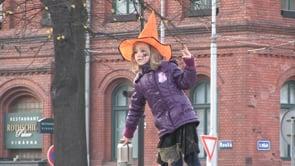 Halloweenský lampionový průvod ve Vítkovicích