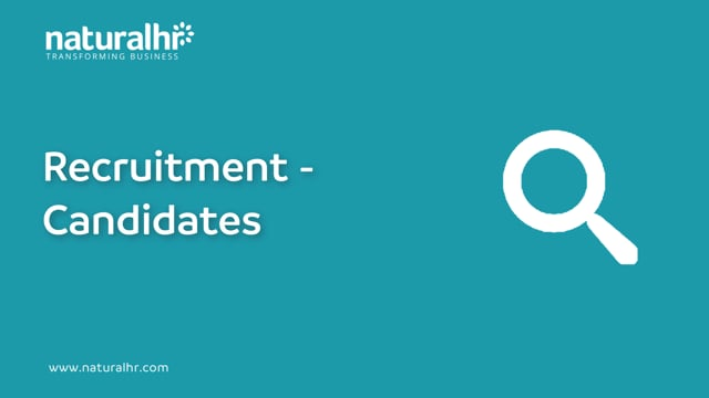 Recruitment - Candidates interviewing