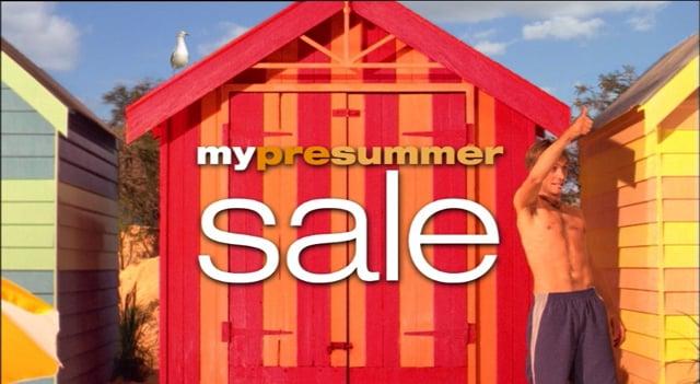 Myer - pre-summer sale