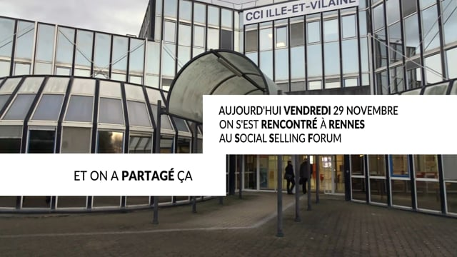 Social Selling Forum, Rennes 2019