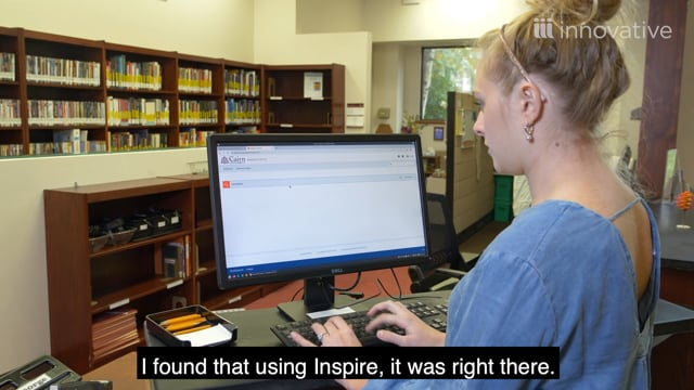 Reimagining the Library Search Experience with Inspire Discovery - English Subtitles