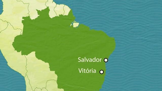 Vitória & Salvador, Brazil - Port Report