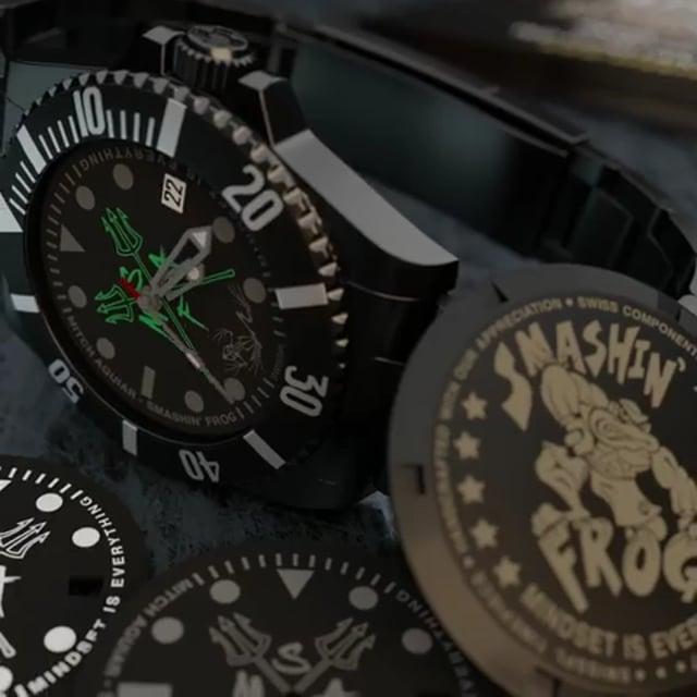 Mitch Aguiar US Navy SEAL timepiece
