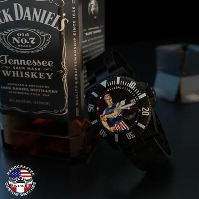 Uncle Sam Defending America timepiece