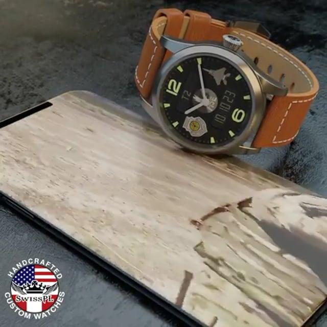 USAF DigiAnalog timepiece