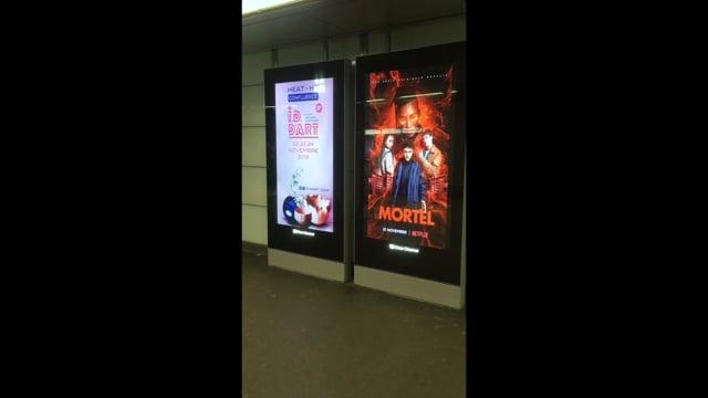 I.D. d'ART 2019 métro Lyon