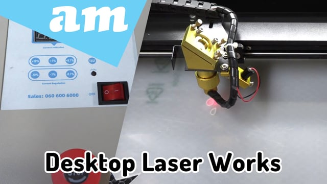 #SortIT How TruCUT Lite Desktop Laser Machine Works, Free Software and Rotary Attachment Full Package