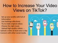How Do I Buy Real Views for TikTok Video?