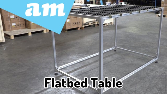 #SortIT How to Setup Hybrid Printer Extension Table with Fluent Roller Tracks for UV Flatbed Printing