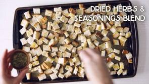 Seasoned Croutons and Breadcrumbs