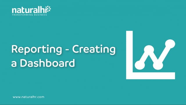 Analytics - Creating a Dashboard