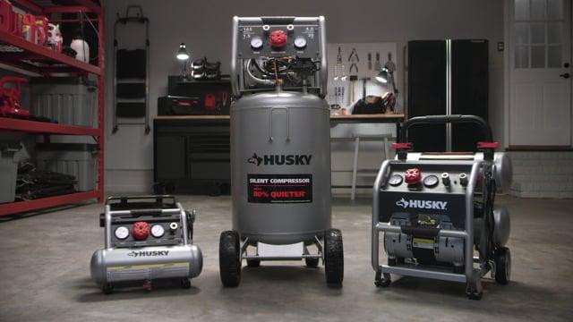 Husky's Silent Compressors