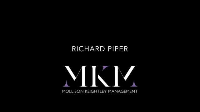 Showreel for Richard Piper