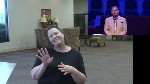 Sunday, March 29, 2020 - Morning Worship Service - Deaf Translation