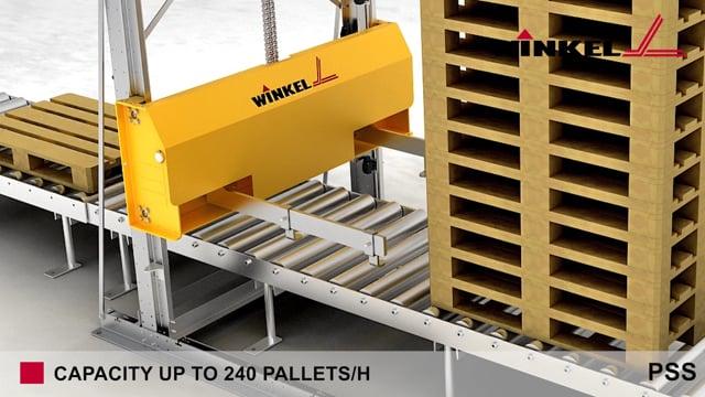 Winkel Pallet Stacker - PSS