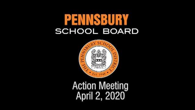 Pennsbury School Board Meeting for April 2, 2020