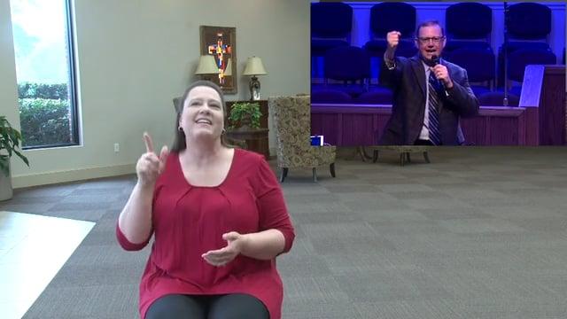 Sunday, April 12, 2020 - Easter Sunday - Deaf Interpretation