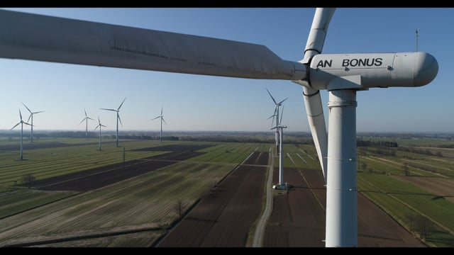 Windpark, Altengamme bei Hamburg