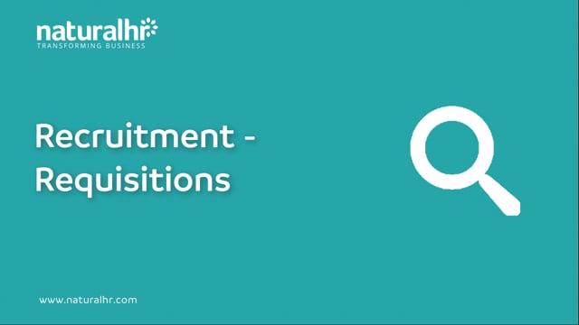 Recruitment - Requisitions