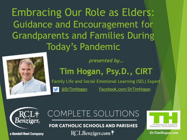 Guidance and Encouragement for Grandparents During Today's Pandemic