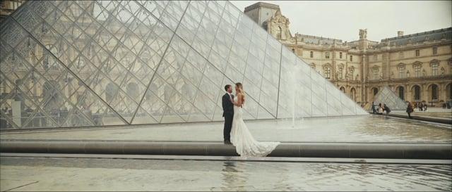 Justina and Brandon : Wedding In Paris