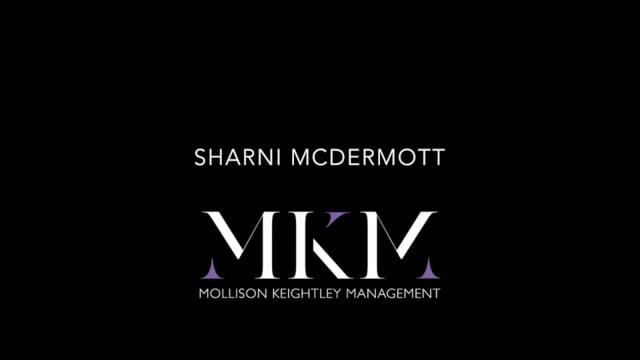Showreel for Sharni McDermott