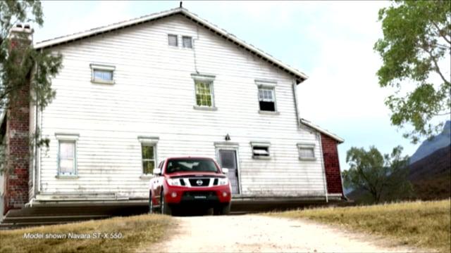Making the Nissan Navara commercial