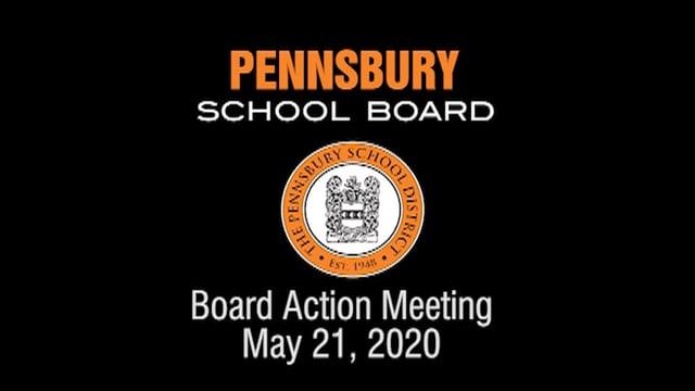 Pennsbury School Board Meeting for May 21, 2020