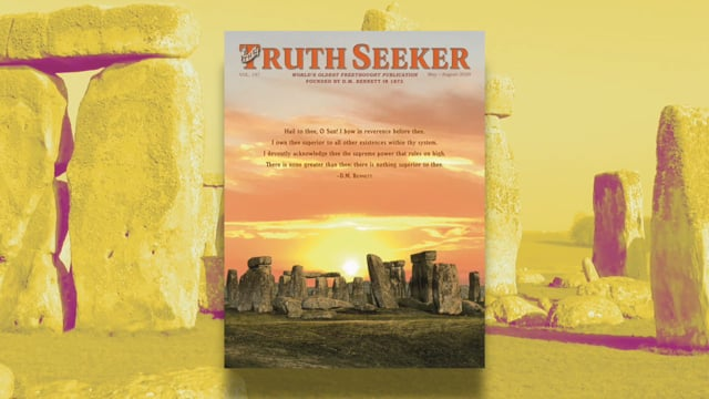 THE TRUTH SEEKER MAY–AUGUST 2020