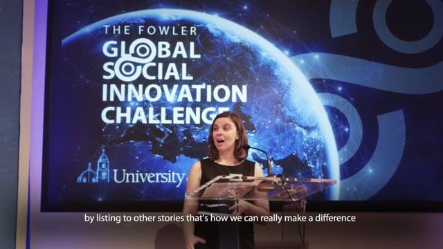 The Fowler Social Global Innovation Challenge 2019