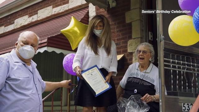 Seniors' Birthday Celebration