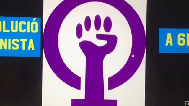 Recull de cartells sobre la igualtat de gènere.