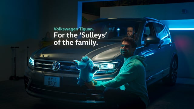 Volkswagen Tiguan / Disney Pixar - Sulley Prank
